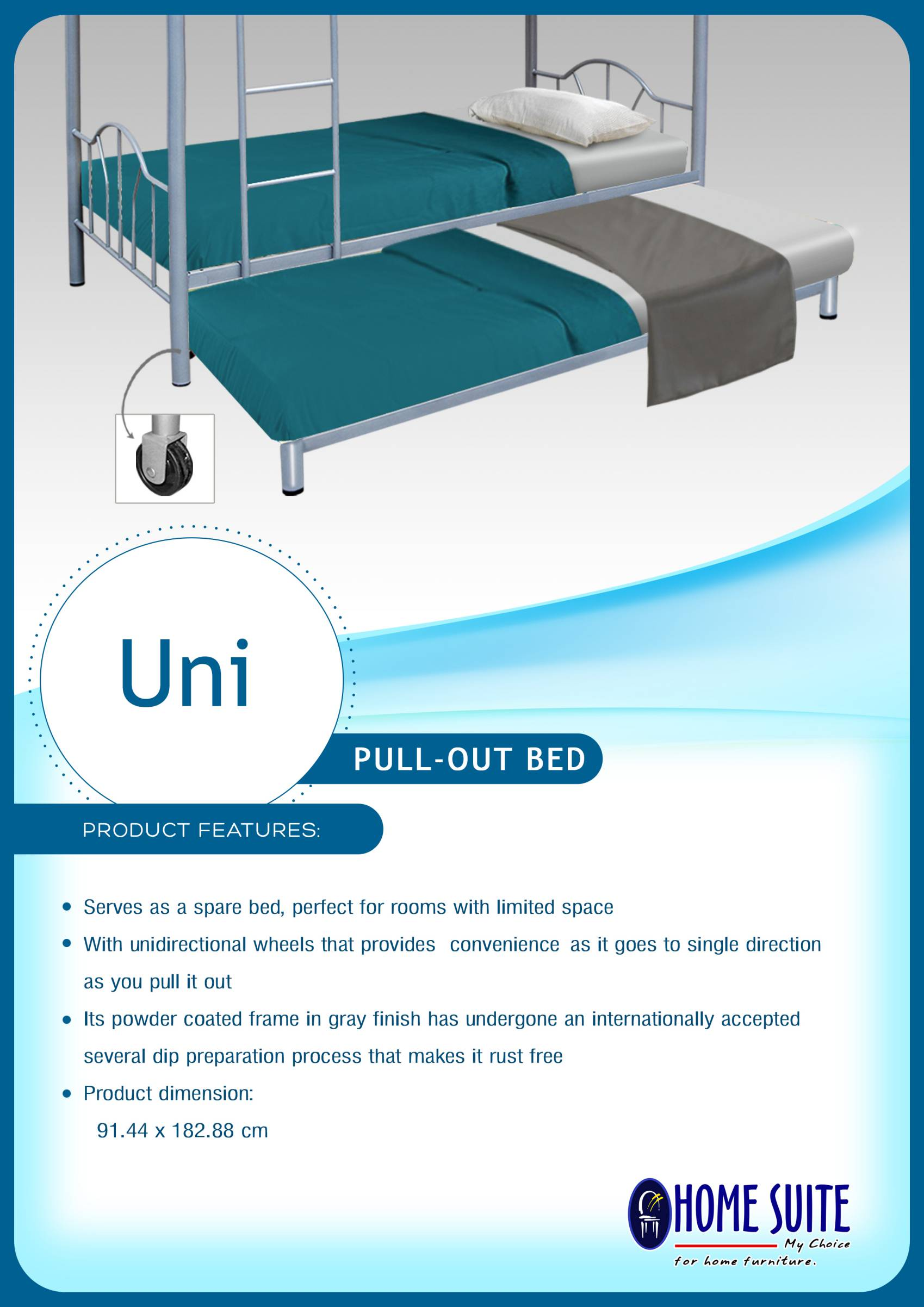 UNI PULLOUT BED